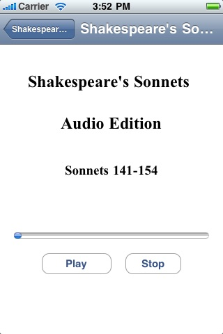 Shakespeare's Sonnets - Audio Edition screenshot-4