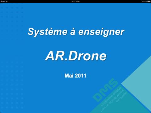 Screenshot #4 pour Système à Enseigner: AR.Drone