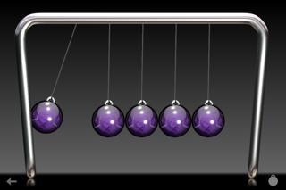Newton's Cradle Classic Megamind Edition screenshot two