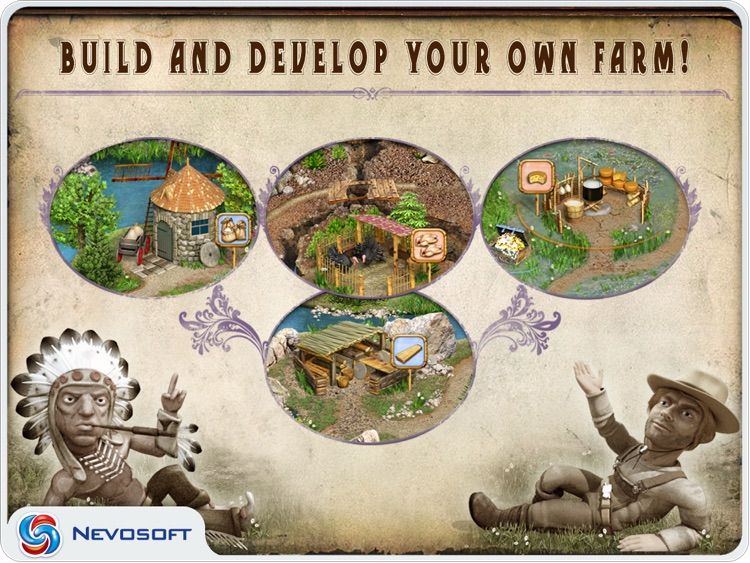 Pioneer Lands HD lite: western settlers strategy screenshot-4