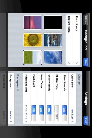 iPocket Clock Lite screenshot-4