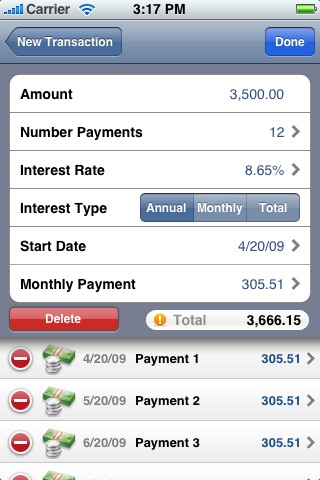 Credit Card Expense Manager screenshot-4