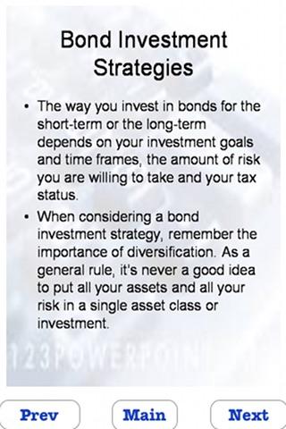 Learn Bonds Investing screenshot-3
