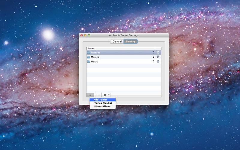 Air Media Server Screenshot