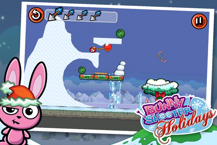 Bunny Shooter Christmas - a Free Game by the Best, Cool & Fun Games