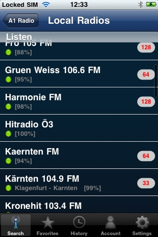 A1 Radios of Austria