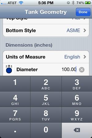 Tank Volume Calc on the App Store