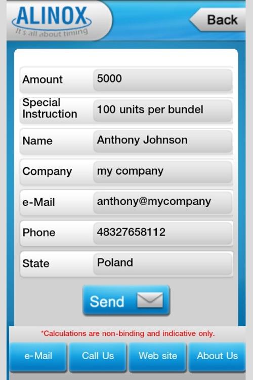 Alinox Metal Weight Calculator screenshot-4