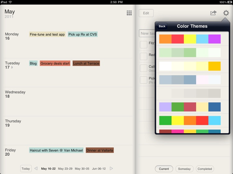 Planner for iPad - Weekly Calendar and Tasks