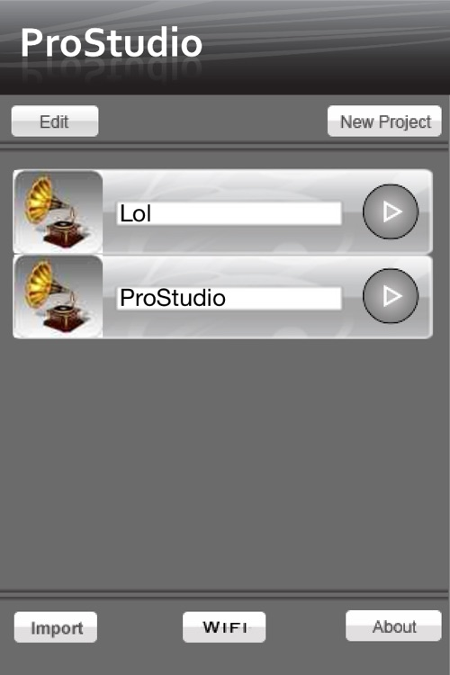 ProStudio - Music Recording App