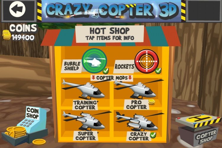 Paper Glider Crazy Copter 3D screenshot-4