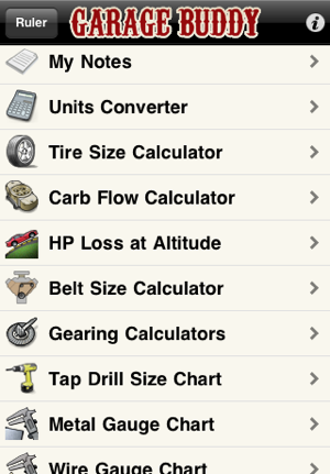 Garage buddy on the app store iphone screenshots greentooth Images