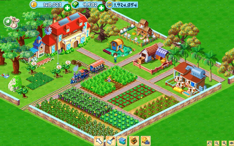 GreenFarm Screenshot