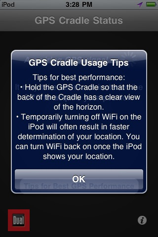 GPS Cradle Status Tool screenshot-2
