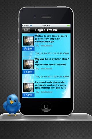 Region Tweets Lite screenshot-4