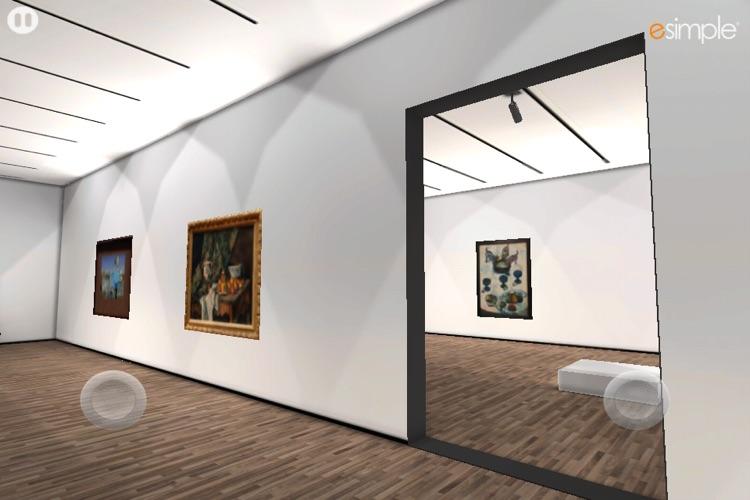 3D Virtual Art Gallery