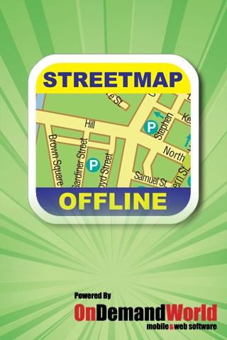 Valencia Offline Street Map