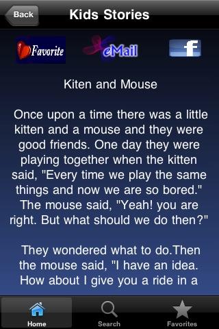 Kid's Bedtime Stories screenshot-3