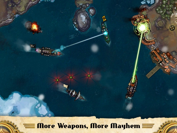 Crimson: Steam Pirates screenshot-3