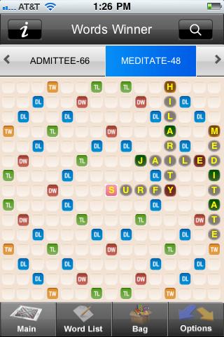 点击获取Words Winner Free - the best cheat app for Scrabble® and Words with Friends