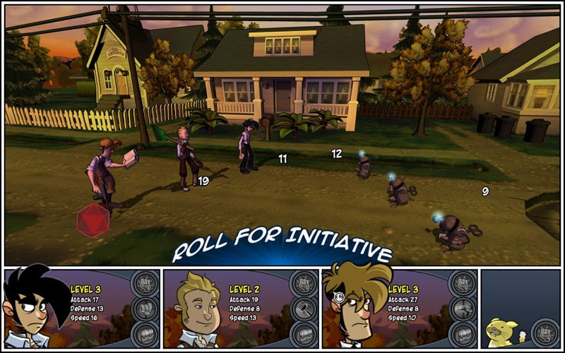 Penny Arcade Adventures Precipice Of Darkness Screenshot