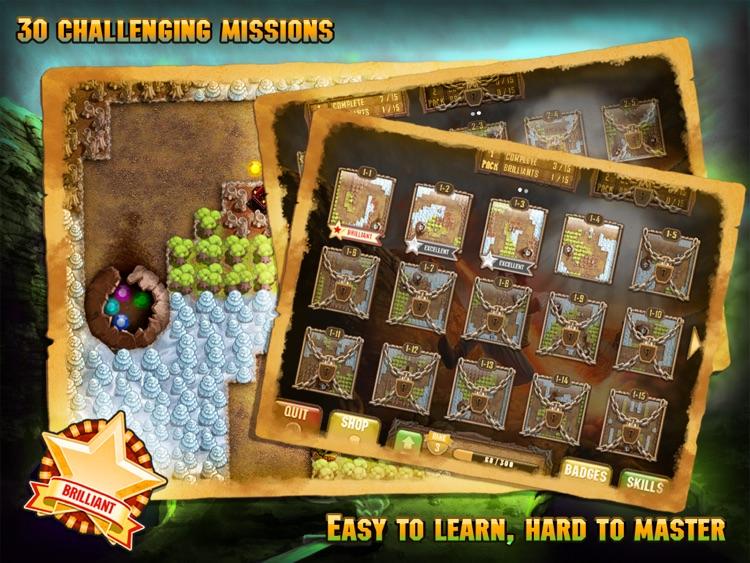 Cursed Treasure HD Lite screenshot-4