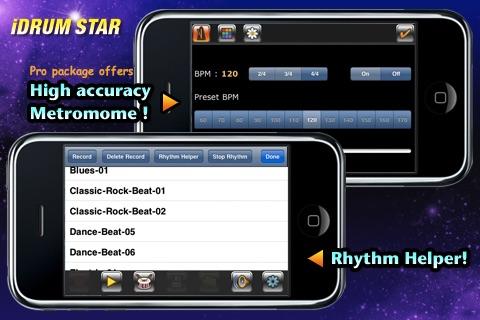 iDrumStarLite screenshot-3