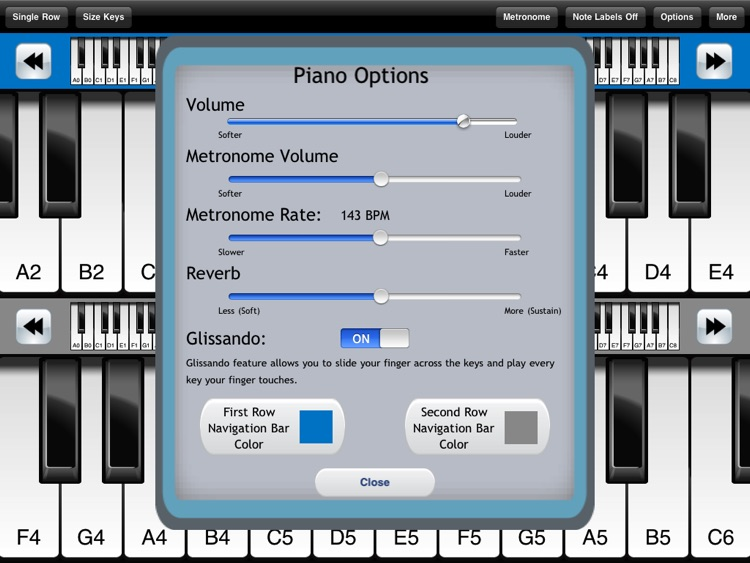 Pocket Piano HD screenshot-2