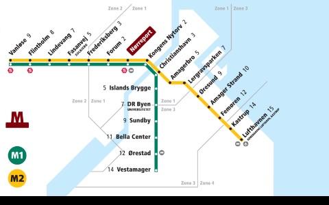 Denmark Subway Maps (Copenhagen) screenshot-4