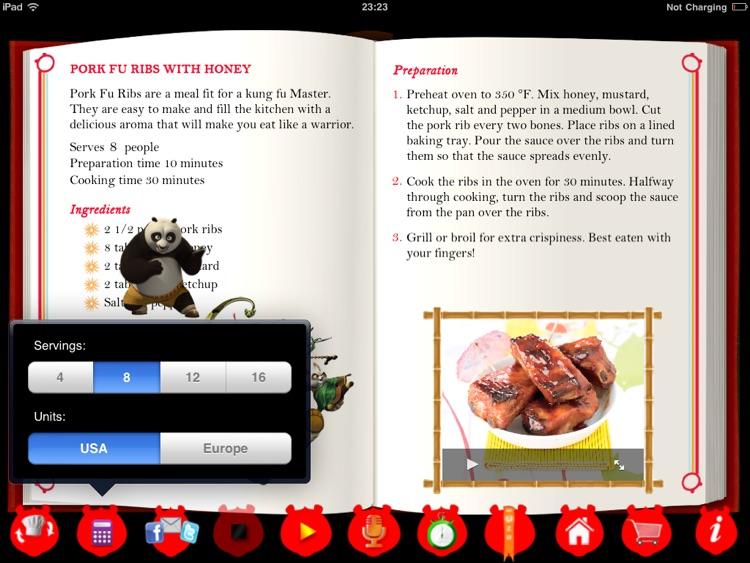 Kung Fu Panda 2 Interactive Cookbook HD Lite