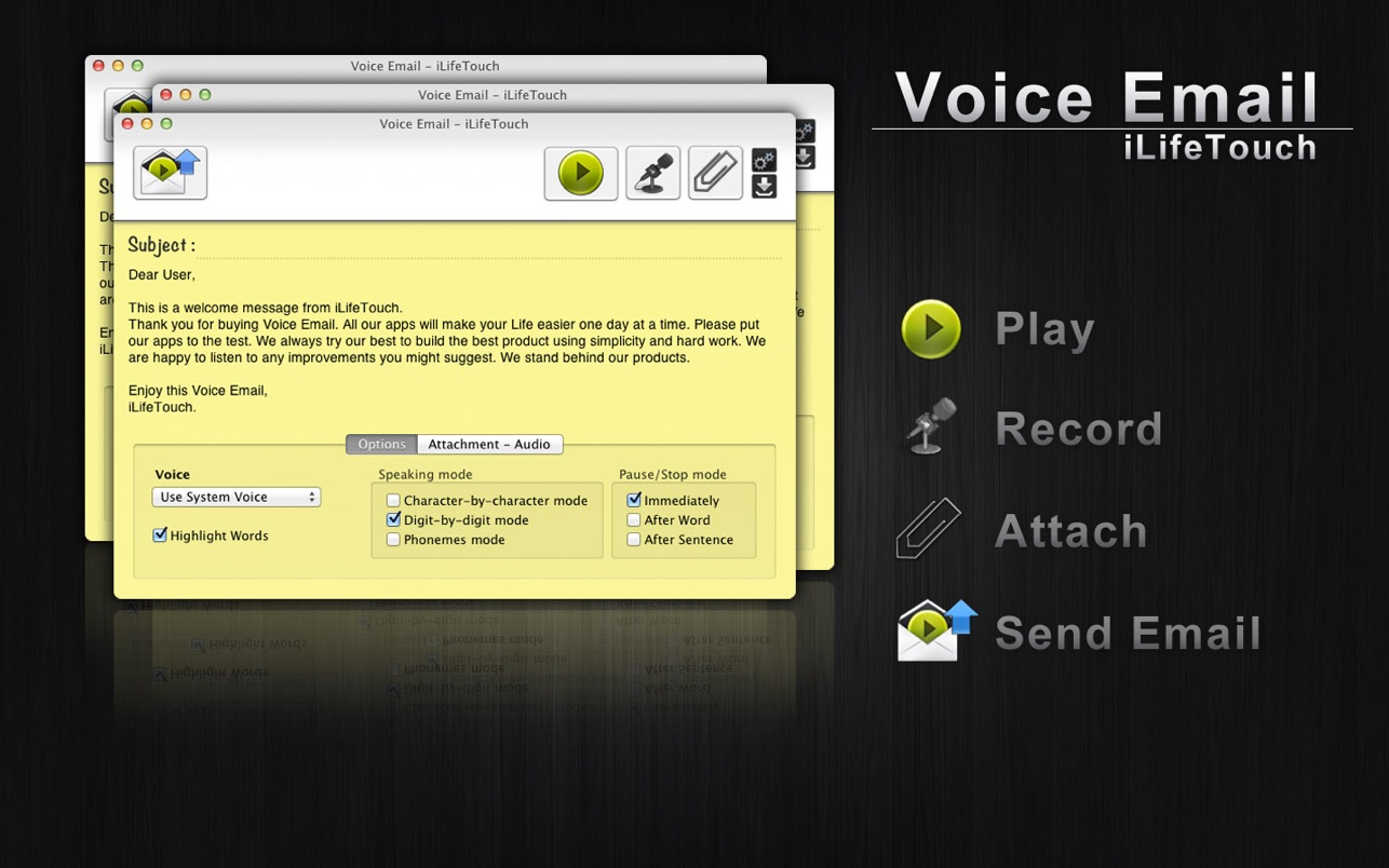 Voice Email