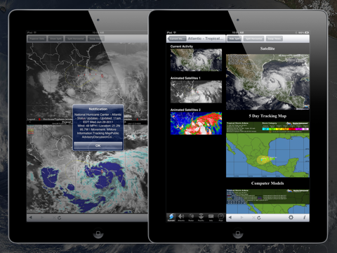 NOAA Hurricane Center HD screenshot 3