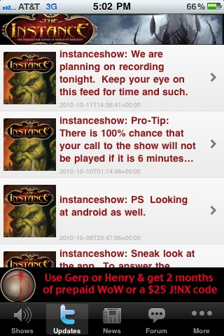 The Instance - Podcast App screenshot-3