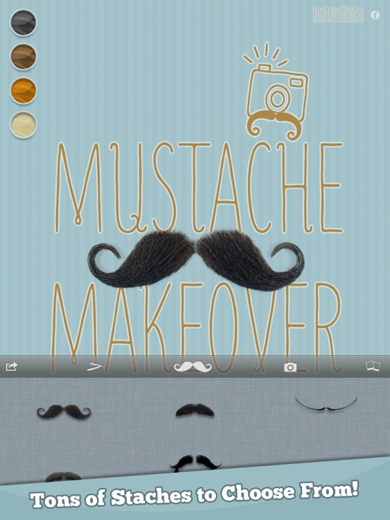 Mustache Makeover Lite HD