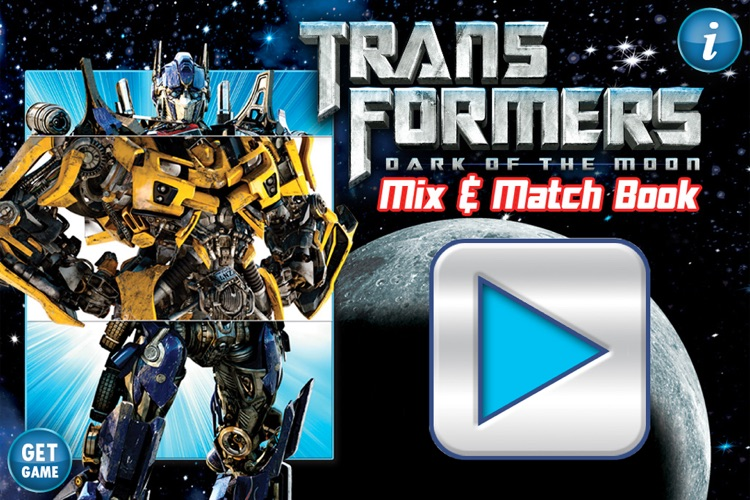 Transformers Dark of the Moon Mix & Match Book