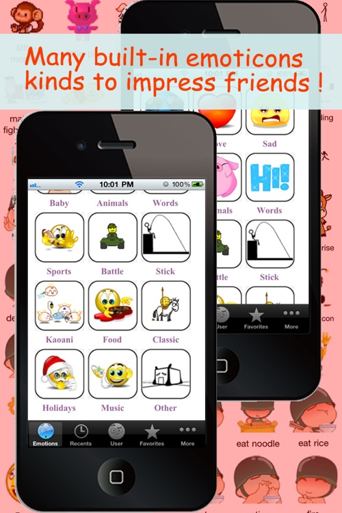 Animated Emotions™ for MMS Text Message, Email!!(FREE) screenshot-4