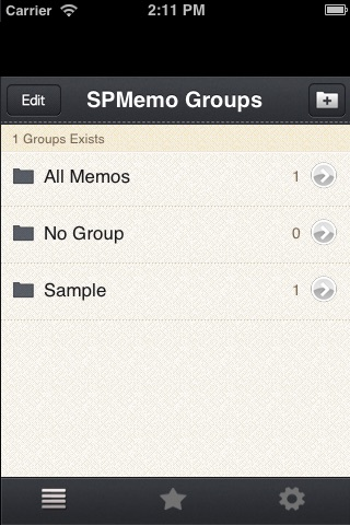 SPMemo screenshot-2