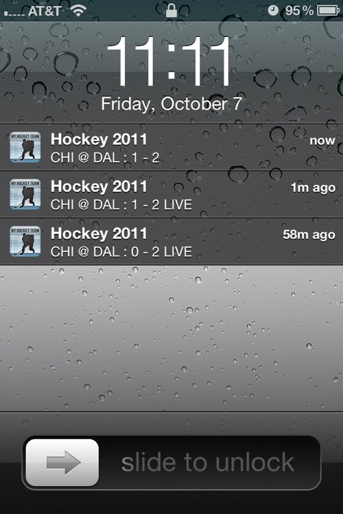 NHL Schedule 2009/10 screenshot-1