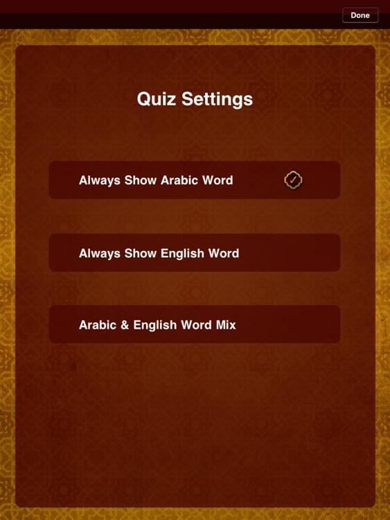 Quranic Words Lite for iPad -- Understand the Arabic Qur'an screenshot-4