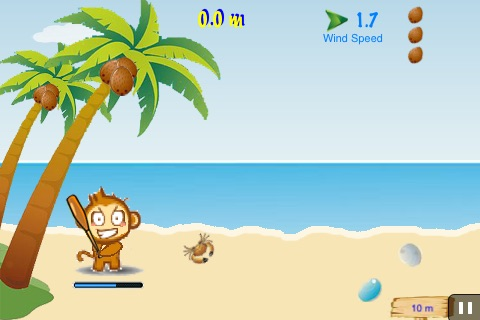 Air CocoMon LITE: Free Flight of the Monkey Coconut screenshot-2