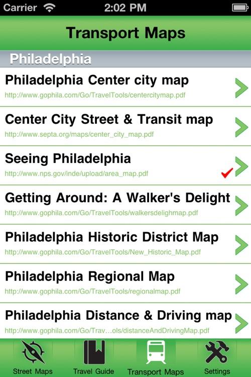Philadelphia Offline Street Map