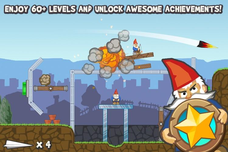 Paper Glider vs. Gnomes screenshot-4