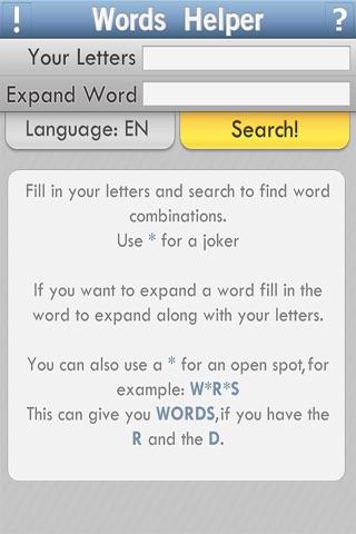 Words Helper