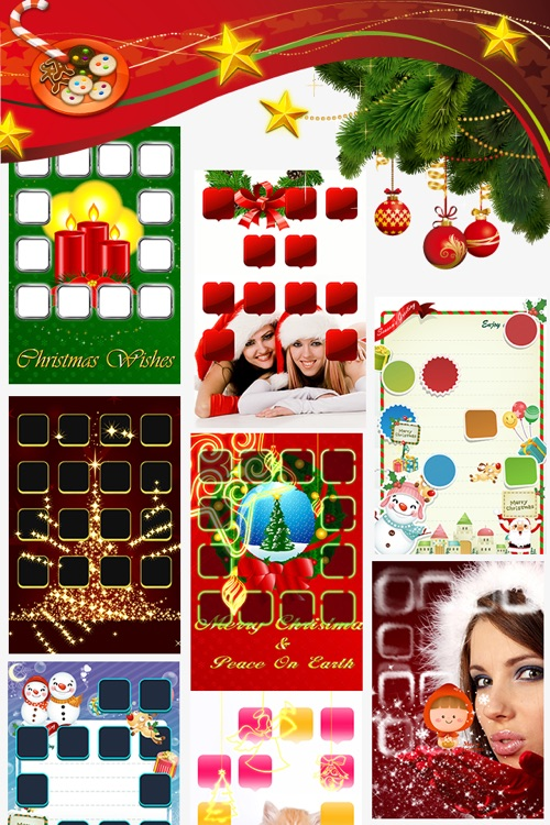 Best HD Xmas Wallpapers for iOS5 screenshot-4