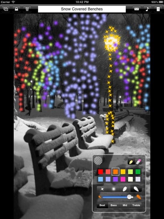 Musical Lights HD Lite screenshot-3