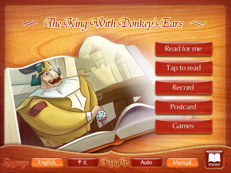 Finger Books-The King With Donkey's Ears HD