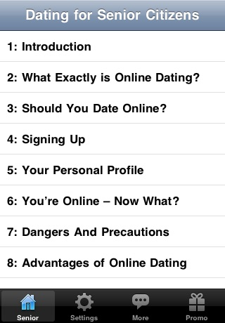 Online Dating for Senior Citizens screenshot-1