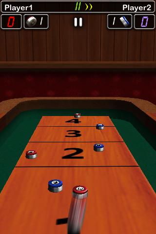 iShuffle Board 2 Free screenshot one