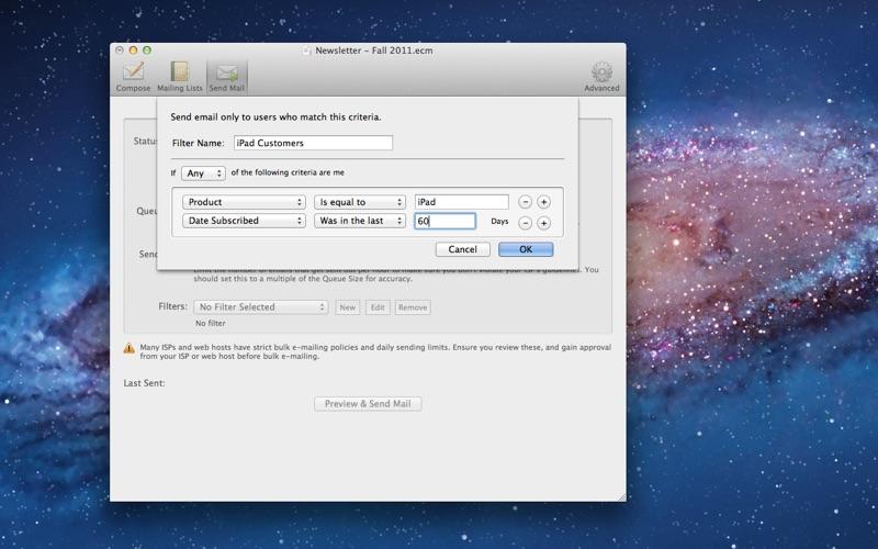 MailShoot Screenshot