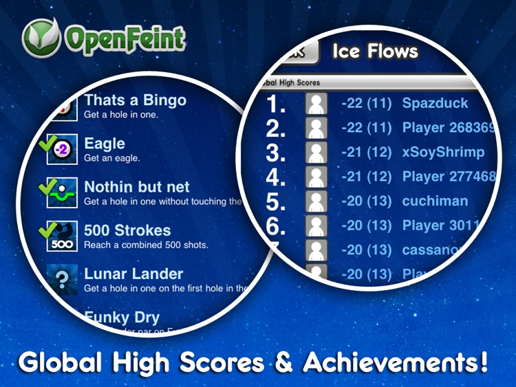 Stickman Golf HD screenshot-4